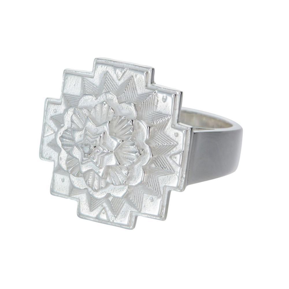 3D Mandala Ring