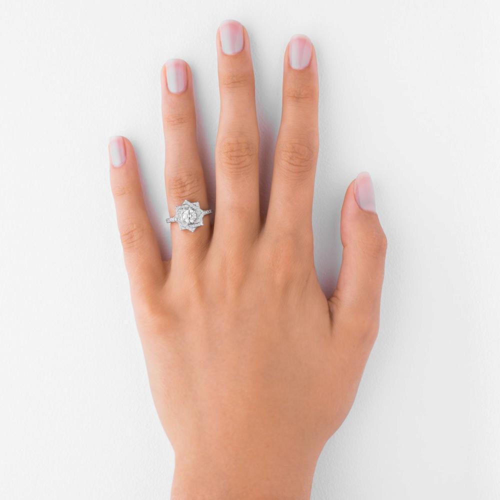 Zinnia Engagement Ring - Image