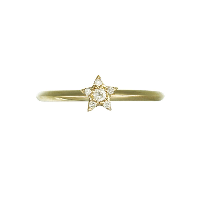 Alcyone Diamond Ring