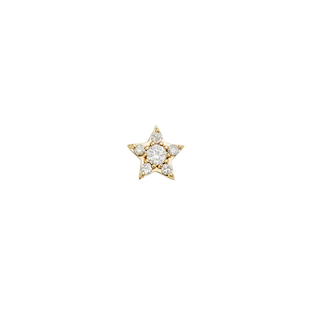 Alcyone Diamond Stud