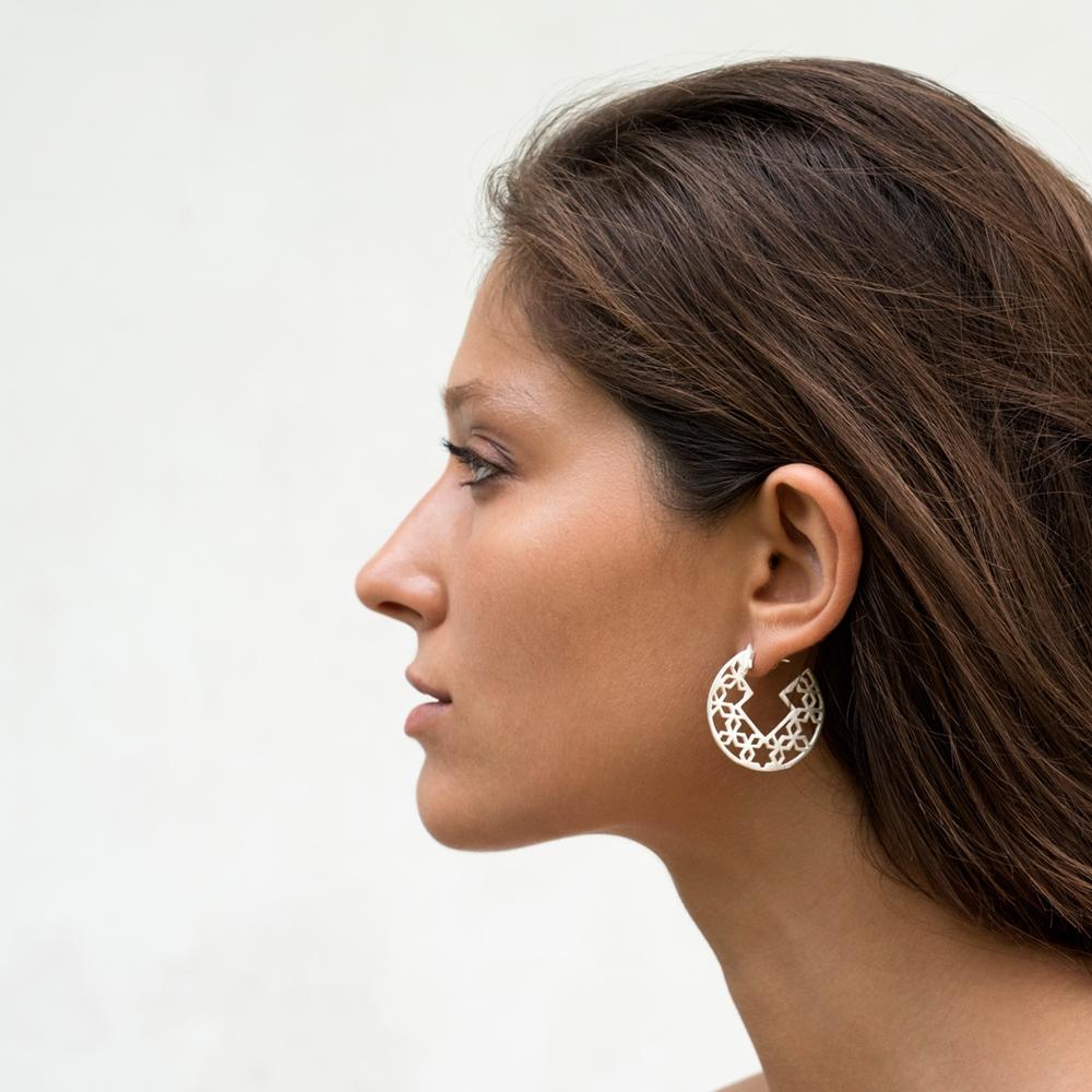 Amber Fort Earring