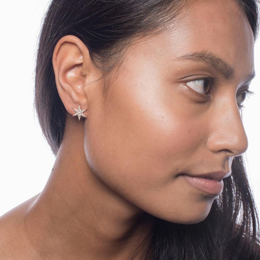 Anahata Diamond Stud | Hover Image