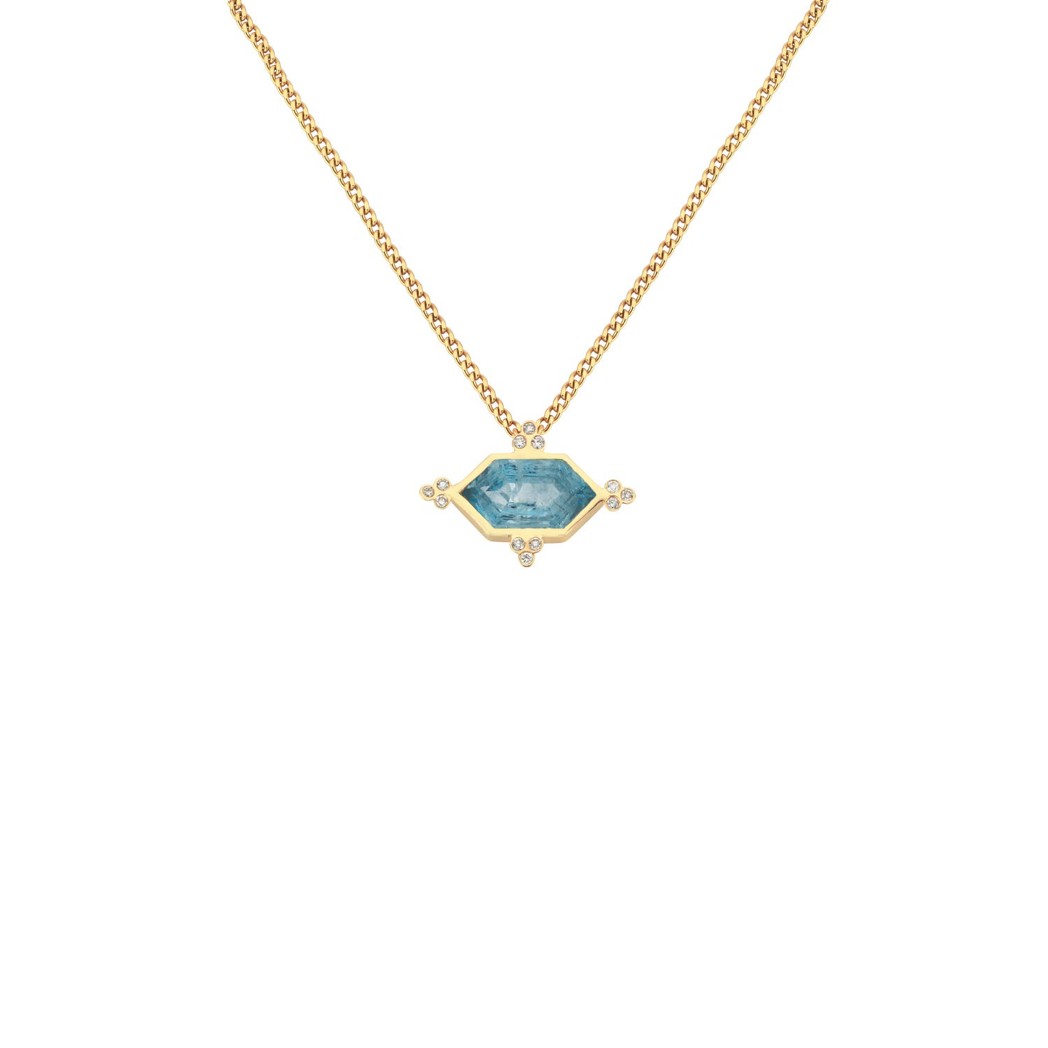 pendant in necklace jewellers aquamarine qp and pearl gold