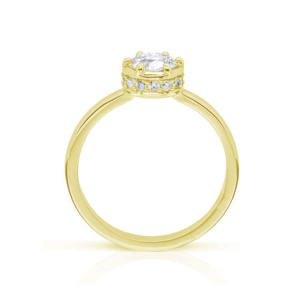 Callida Solitaire Engagement Ring - Thumbnail