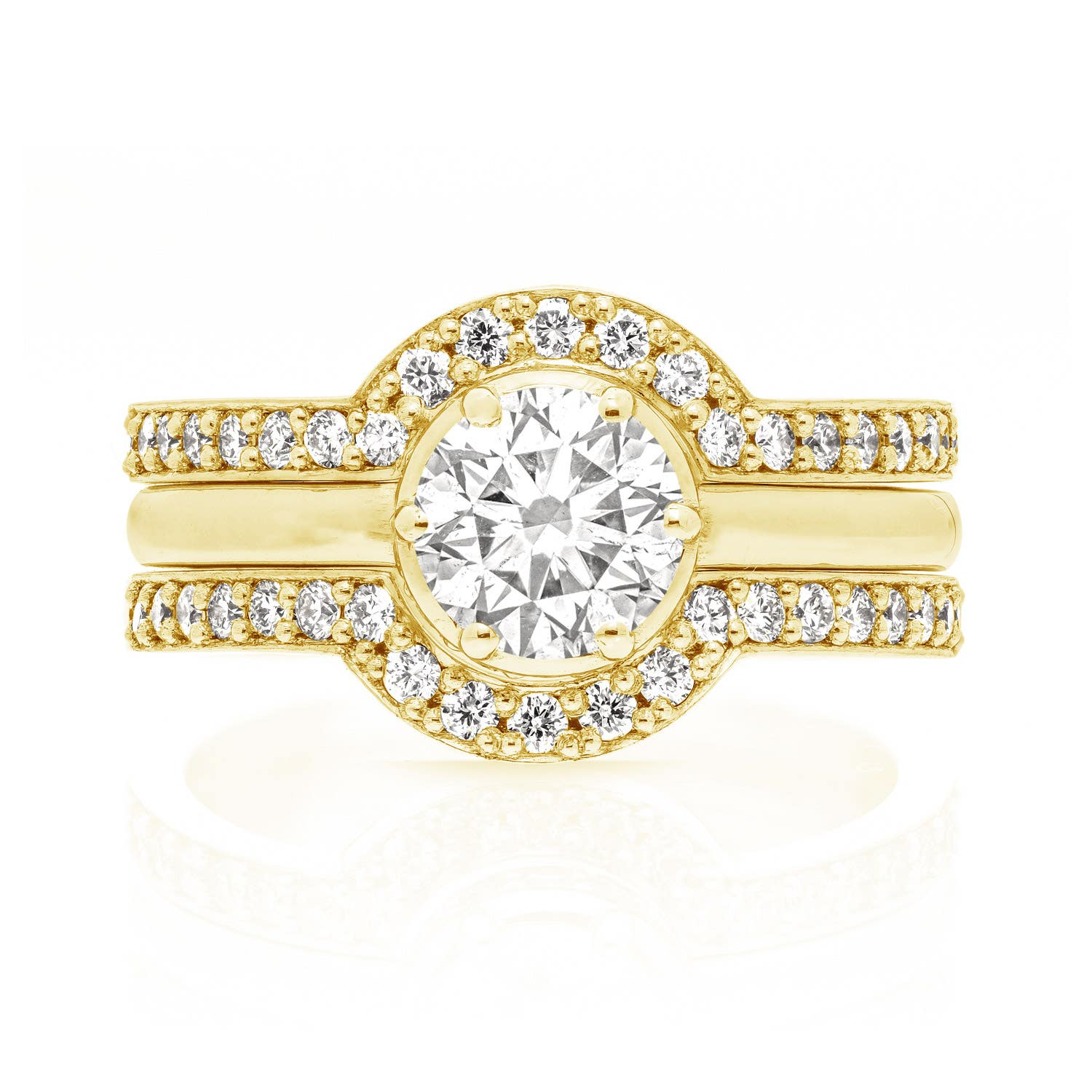 Callida Solitaire Engagement Ring - Image