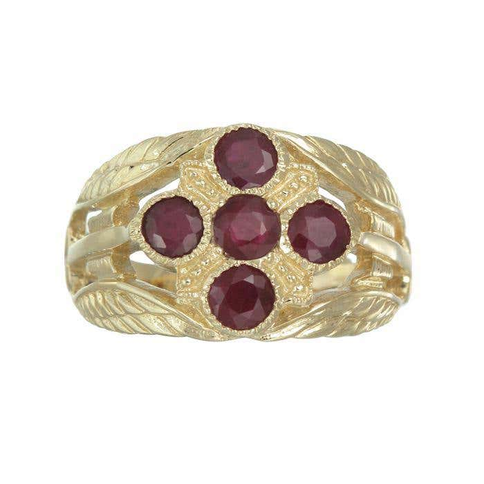 Ruby Cupid Ring
