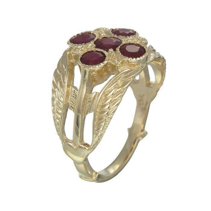 Ruby Cupid Ring | Hover Image