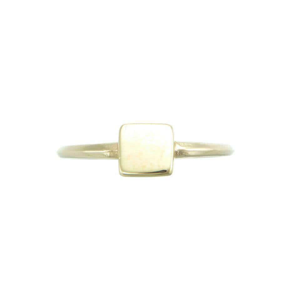 9ct Earth Ring
