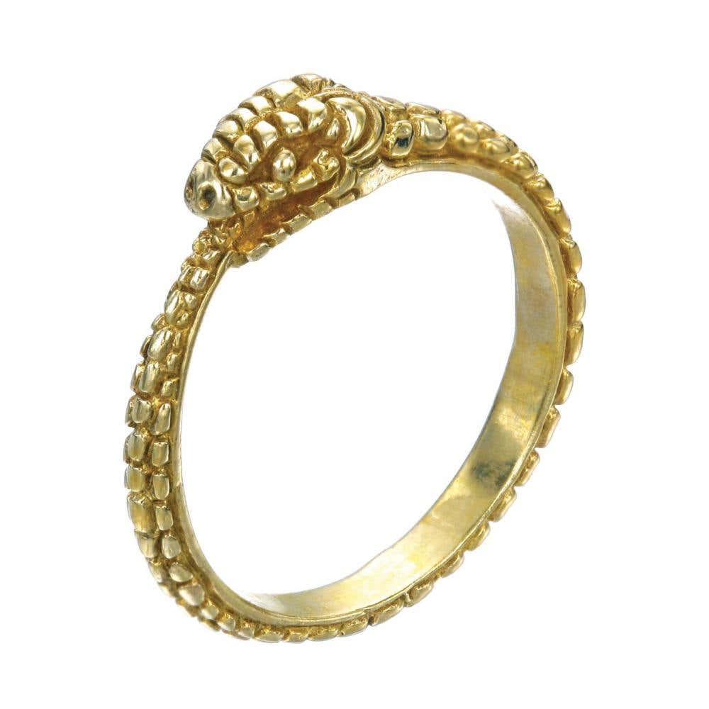9ct Eternity Snake Ring