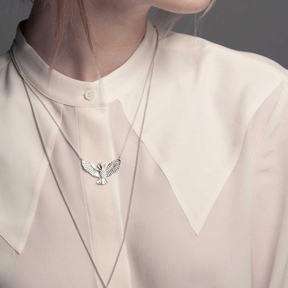 Noble owl Necklace - Image