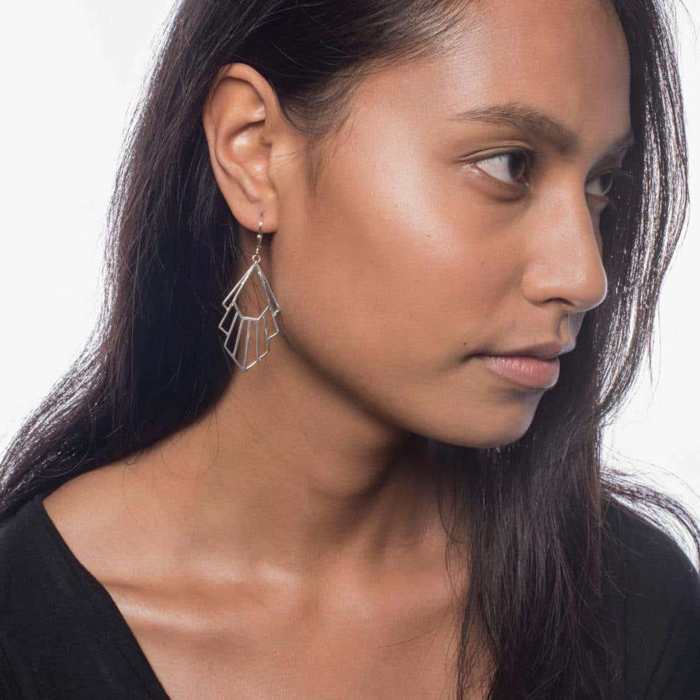 Flossie Earrings | Hover Image