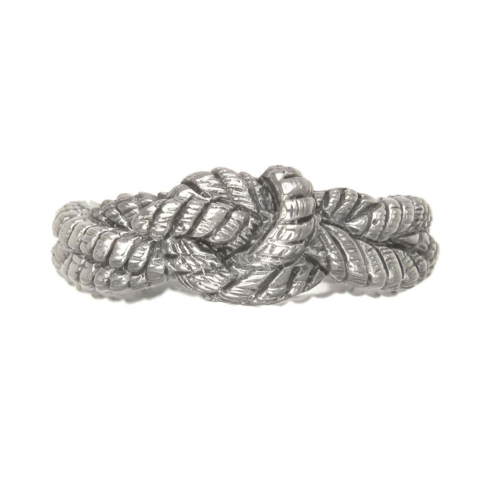 Mens Forget Me Knot Ring