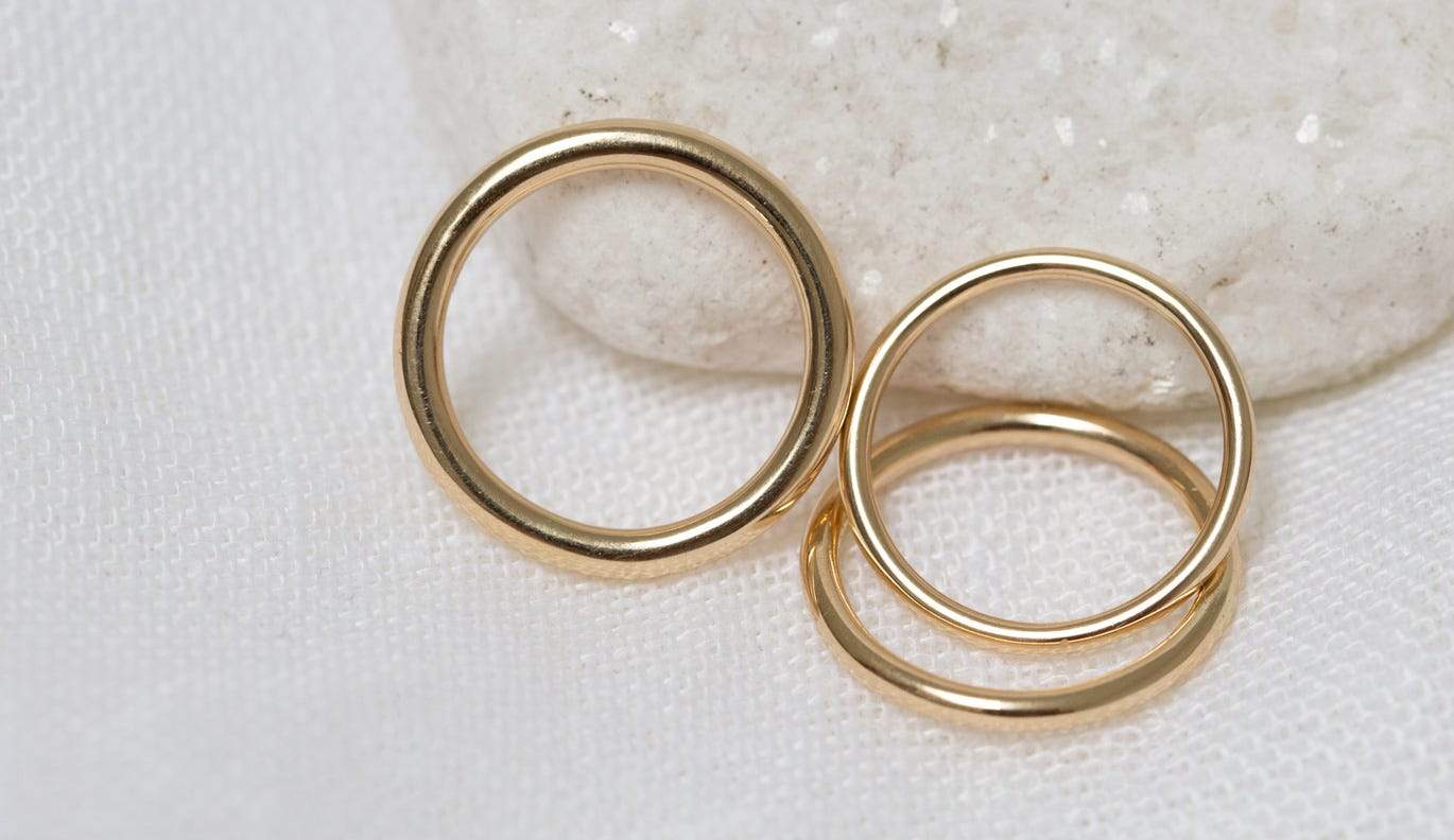 Gracie Band 1.5mm / 18k Yellow Gold
