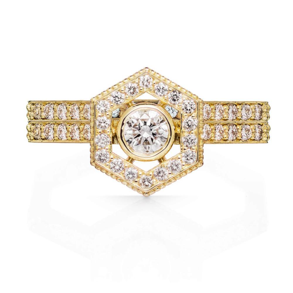 Aretha Engagement Ring  - Image
