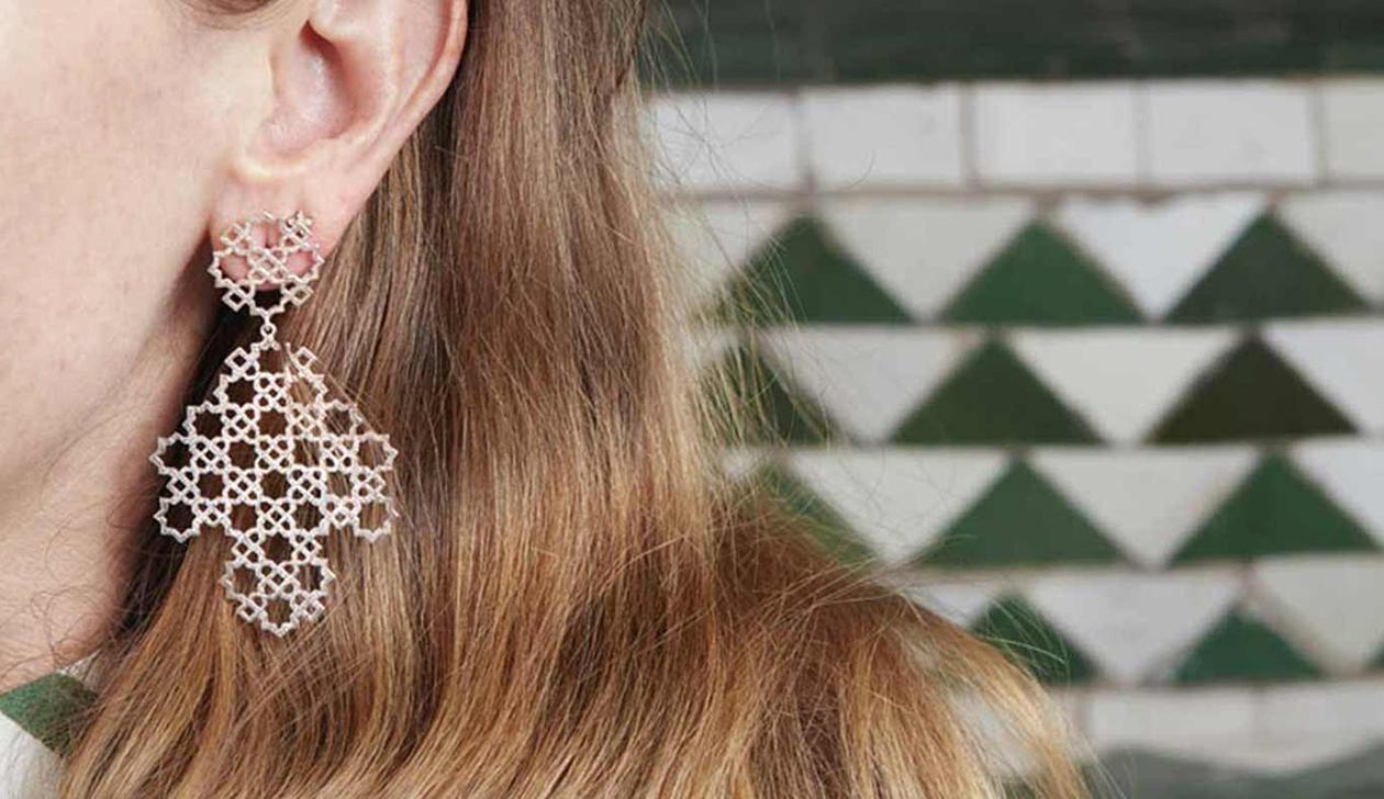 Ketama Earrings / 925 Sterling Silver