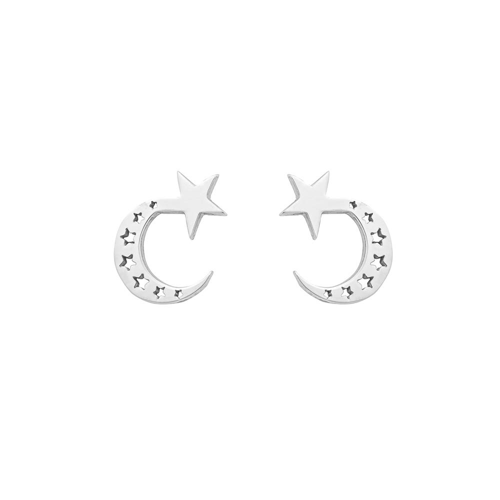 Little Moon Studs