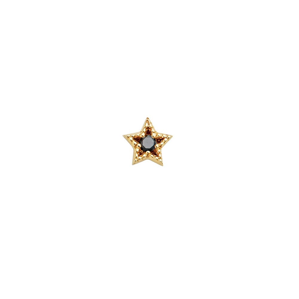 Maia-9ct Yellow Gold-Black Diamond - Image