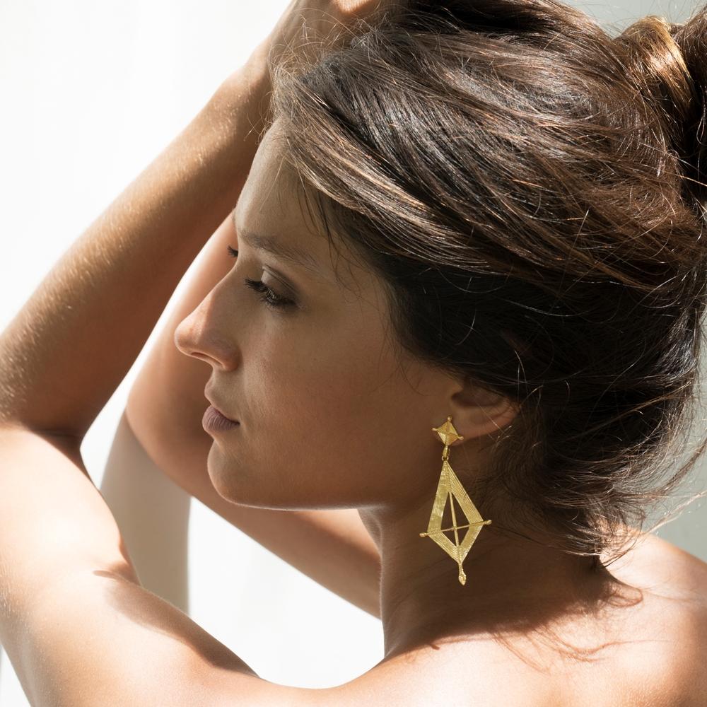 Mindu Earrings | Hover Image