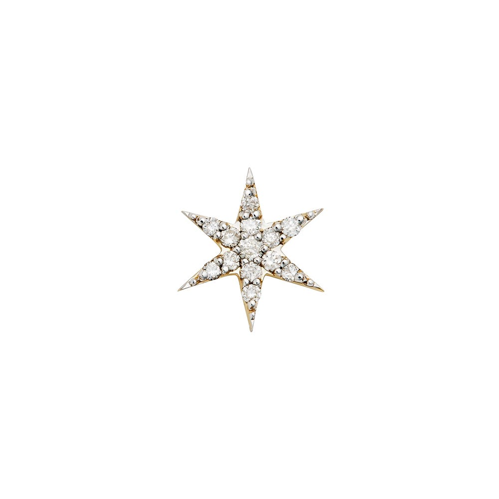 Mini Anahata Diamond Stud