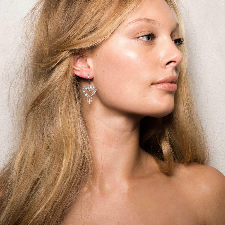 Gypsy Heart Earrings - Image
