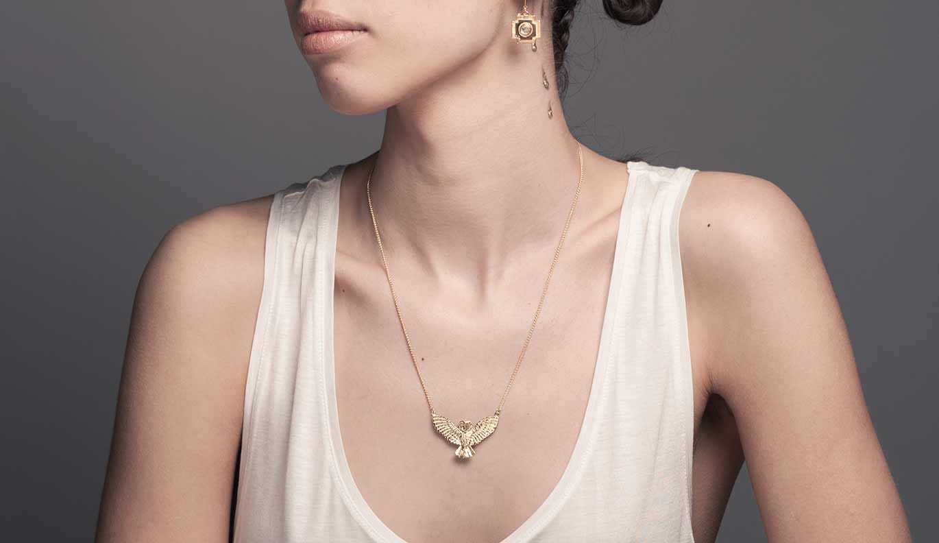 Noble Owl Necklace