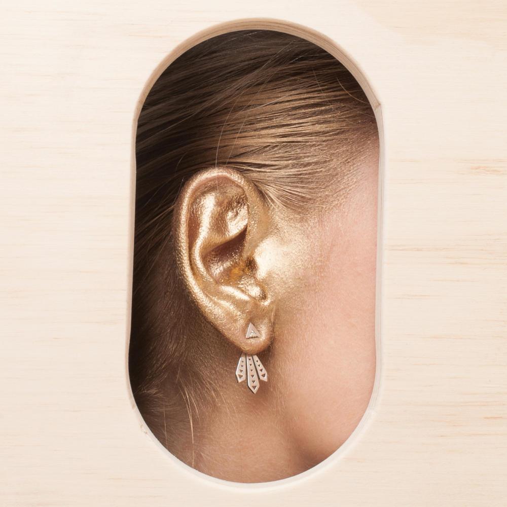 Piwakawaka Ear Jacket  - Image
