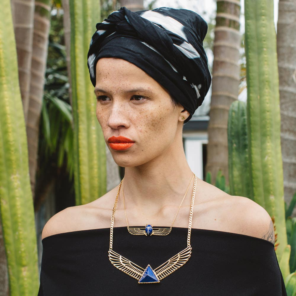 Queen of Now Necklace | Hover Image