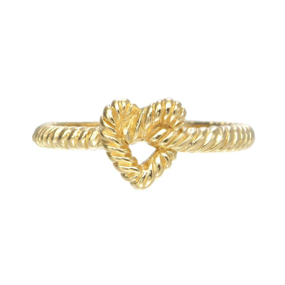Rope Heart Ring