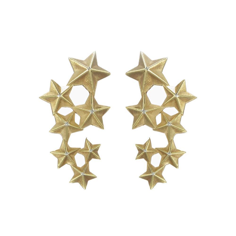 Seven Sisters 9k fine Earrings