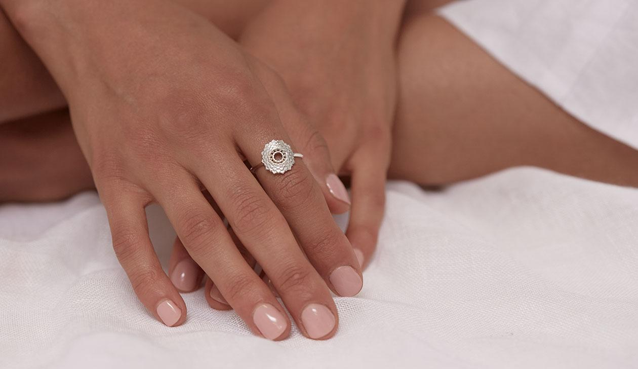 Seventh Chakra Ring