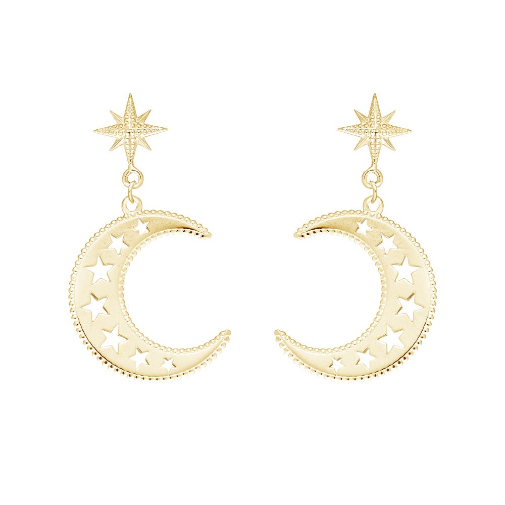 Sky Earrings - Image