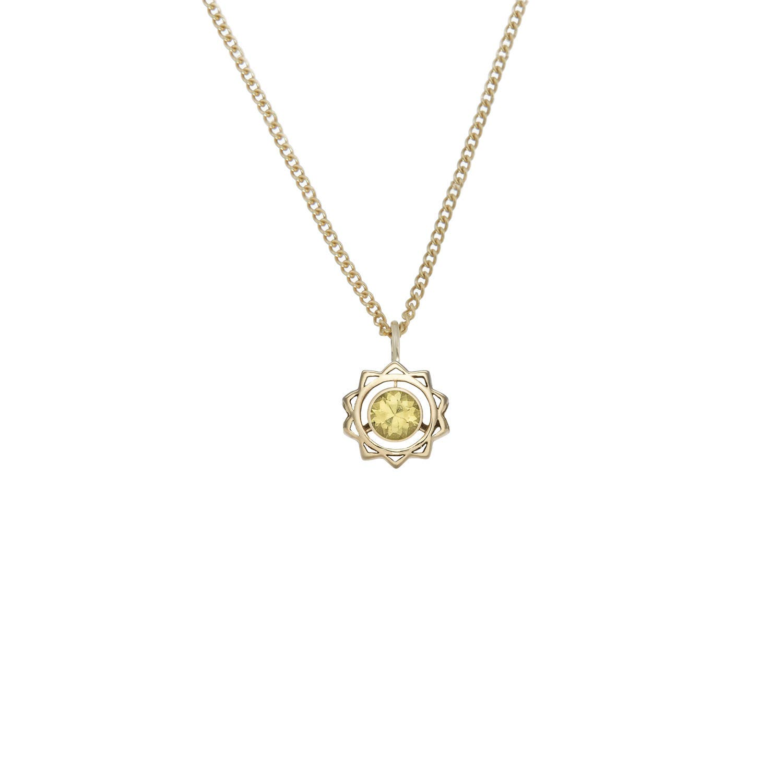 Solar Plexus Chakra Necklace  - Image