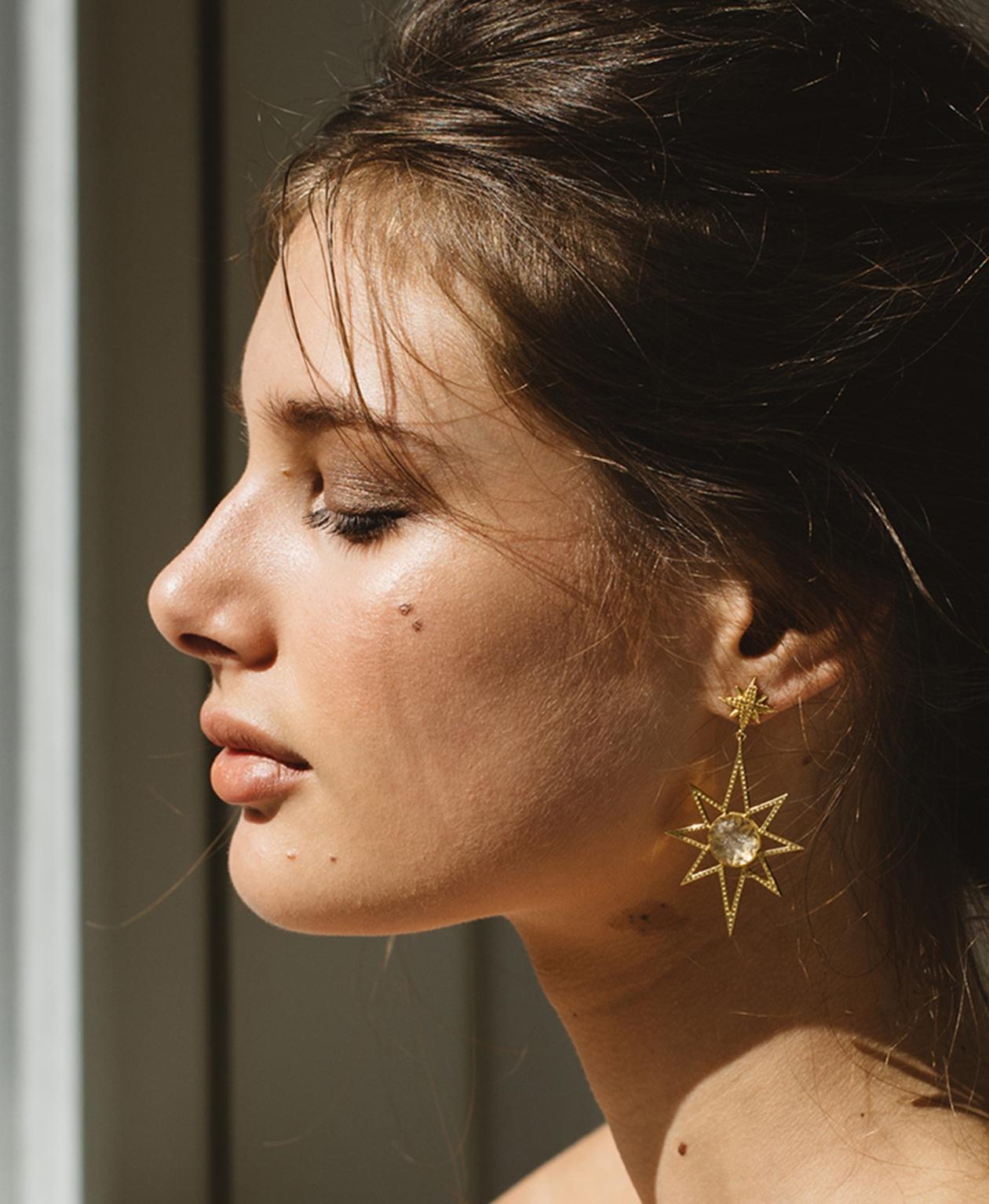 Sunburst Earring