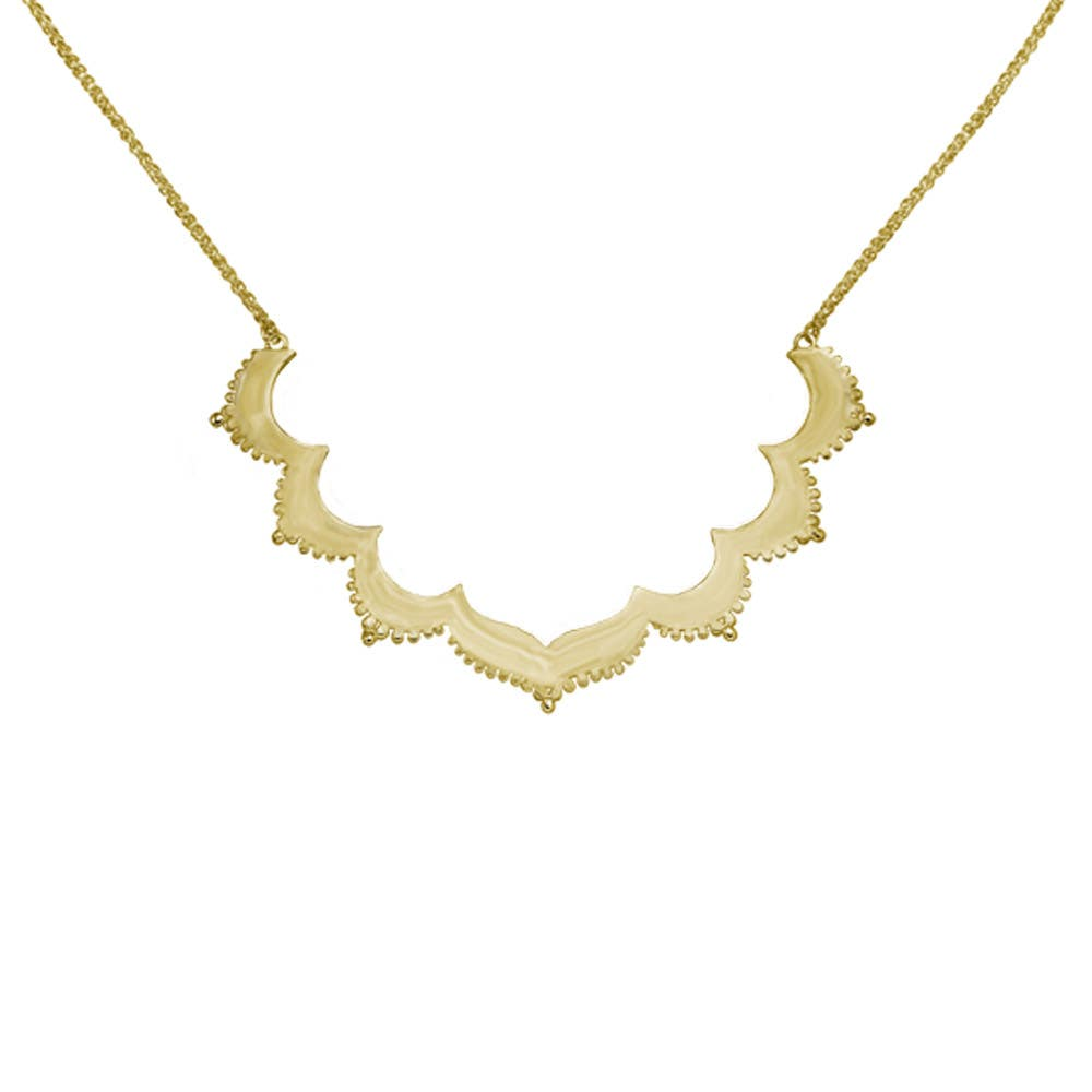Tangier Large Frame Necklace