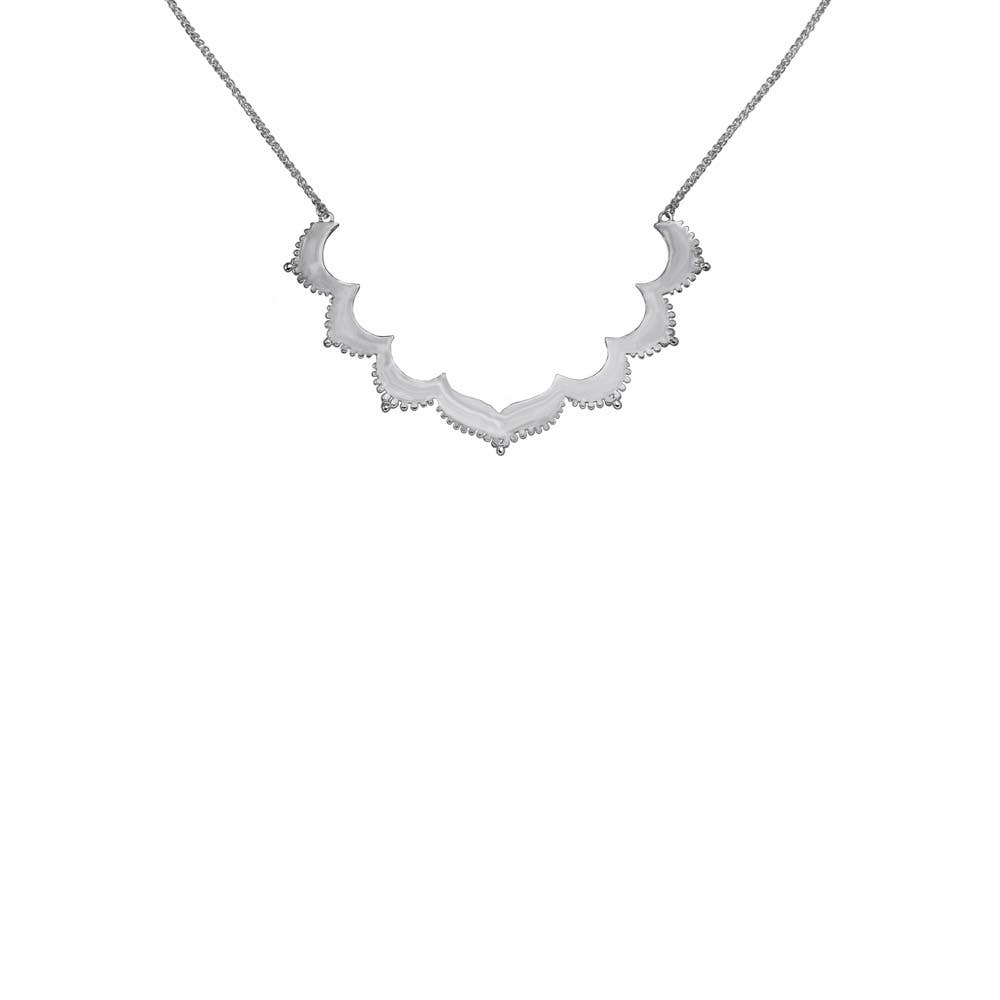 Tangier Small Frame Necklace