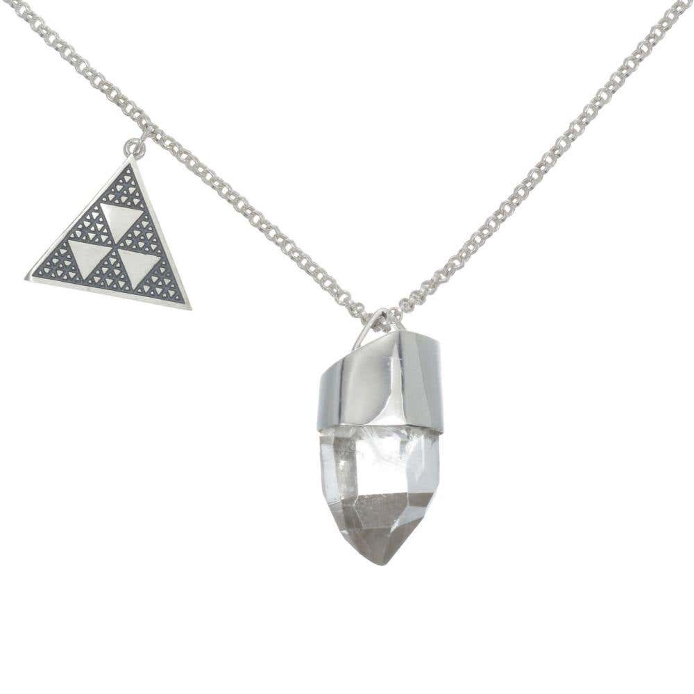 Triangle Yantra Necklace