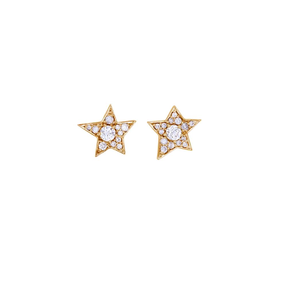 Twinkle 9k Rose Gold / White Diamond - Image