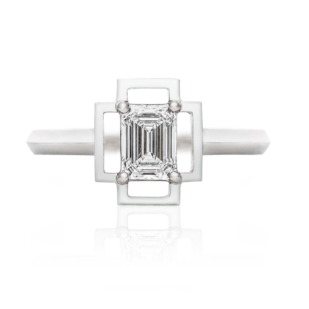 Holos 18k White Gold Ring