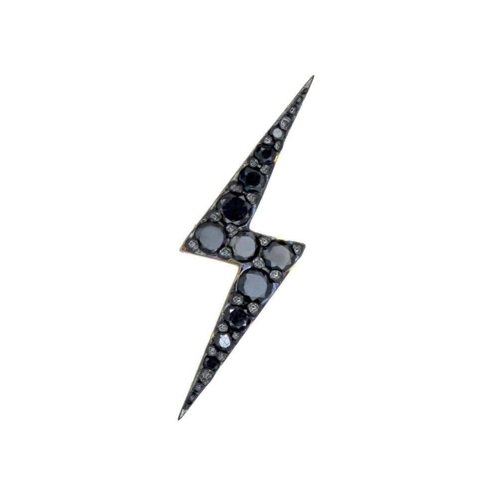 Zap Black Diamond Stud