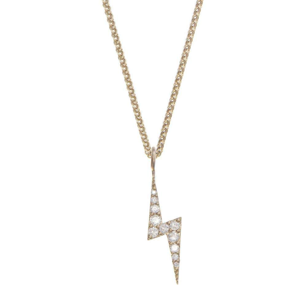 Zap White Diamond Necklace