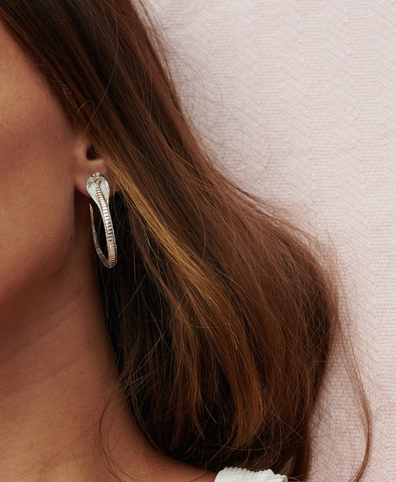 de970cf53 Buy Protect Me Hoop Earrings Sterling Silver | Zoe & Morgan